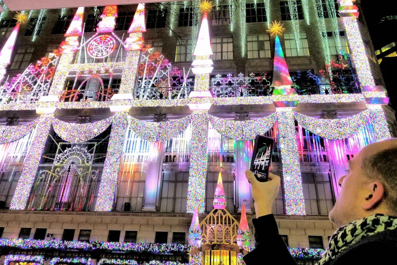 New York City: Holiday Lights Extravaganza Walking Tour