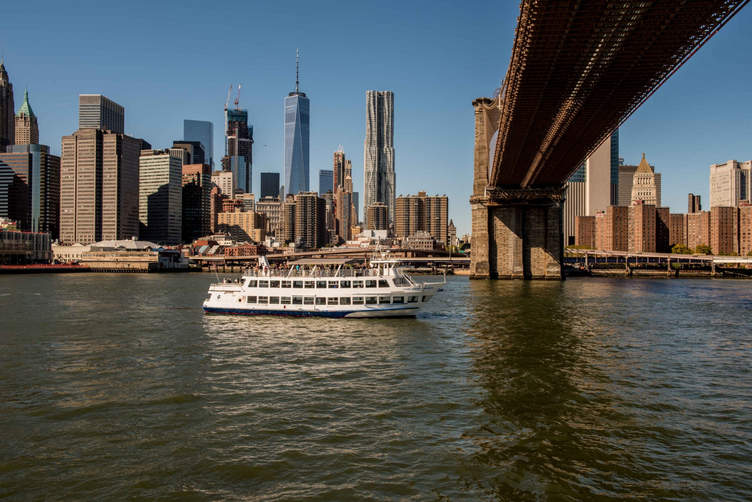 New York City: Hop-On Hop-Off 1.5-Hour Cruise