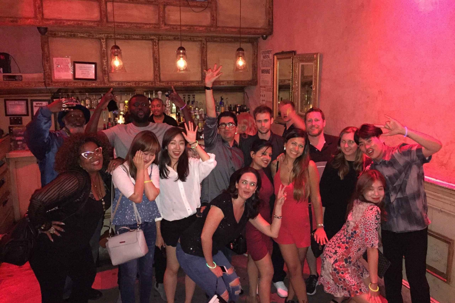 New York City: Hosted Group Night Out Experience