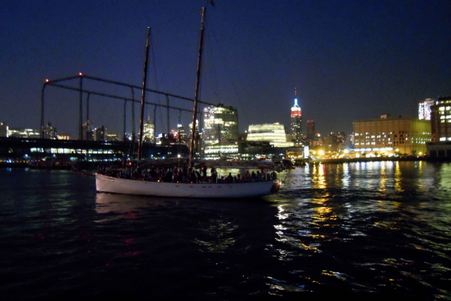 New York City Lights Schooner Cruise