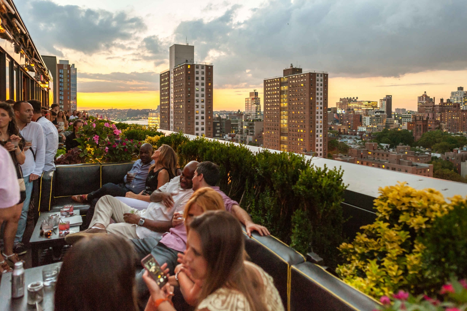 New York City Rooftop Lounge Bars Tour