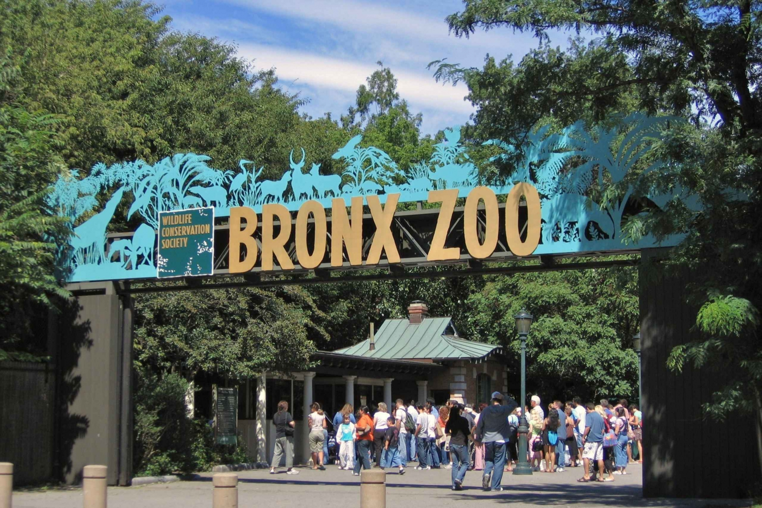New York City: Top Sights Walking Tour and Bronx Zoo Ticket