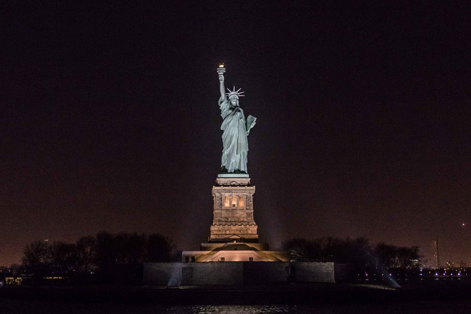 New York Harbor and Statue of Liberty Evening Cruise