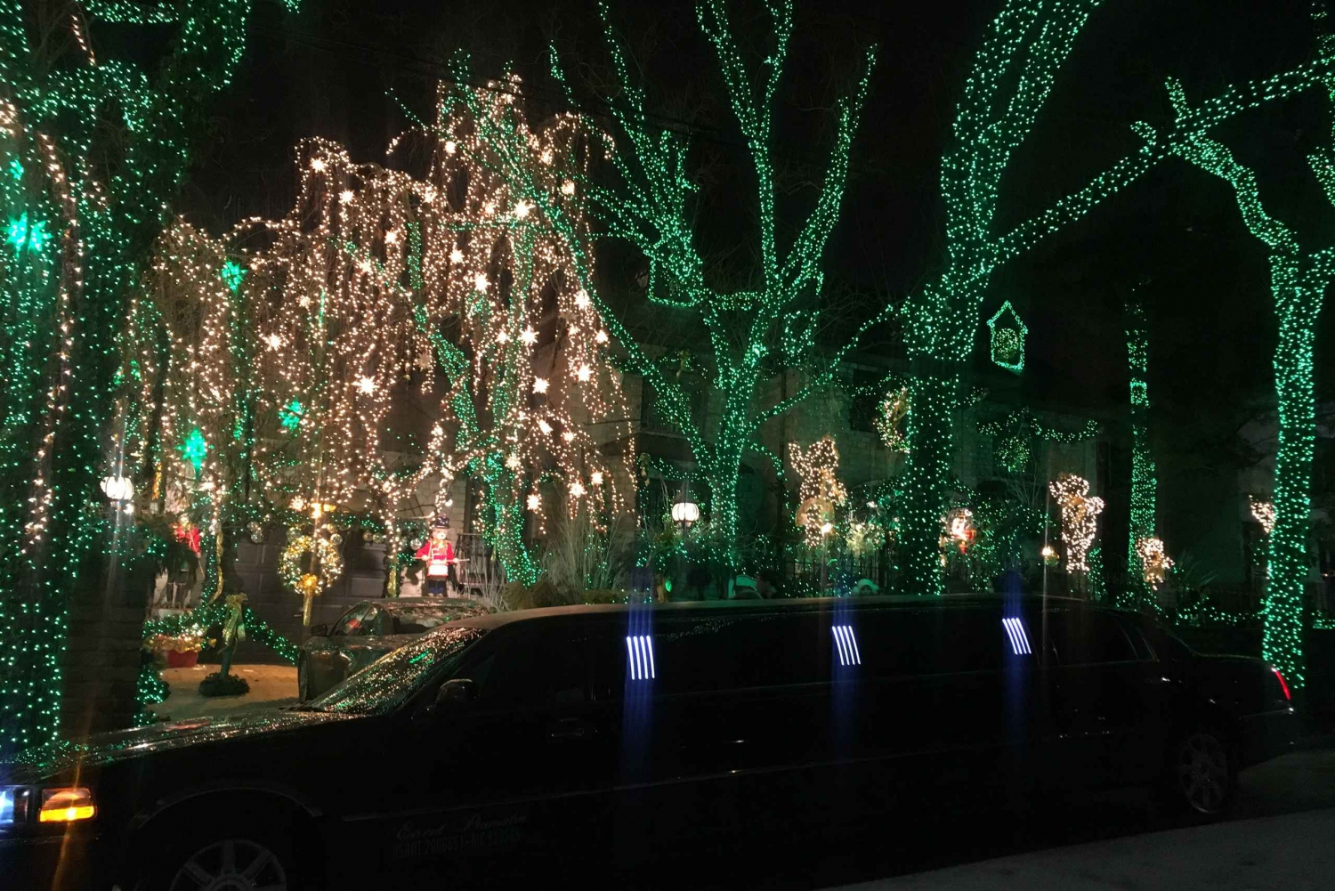 NYC: 3-Hour Private Christmas Light Limo Sightseeing