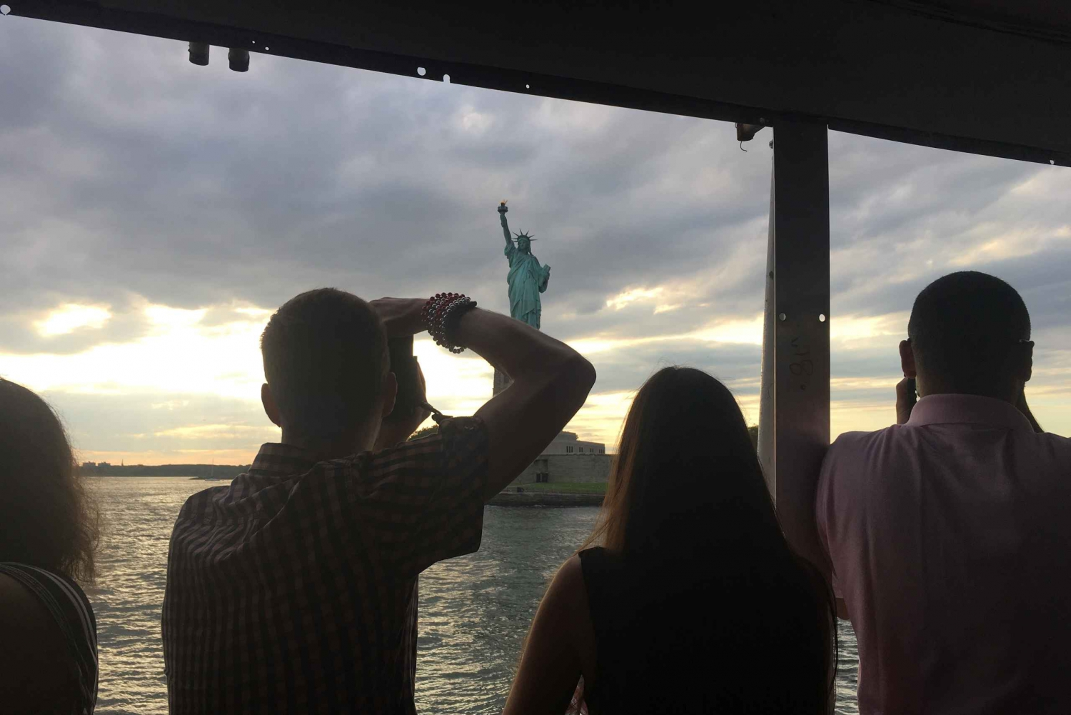 NYC: 60-Min Statue of Liberty & Ellis Island Sunset Cruise