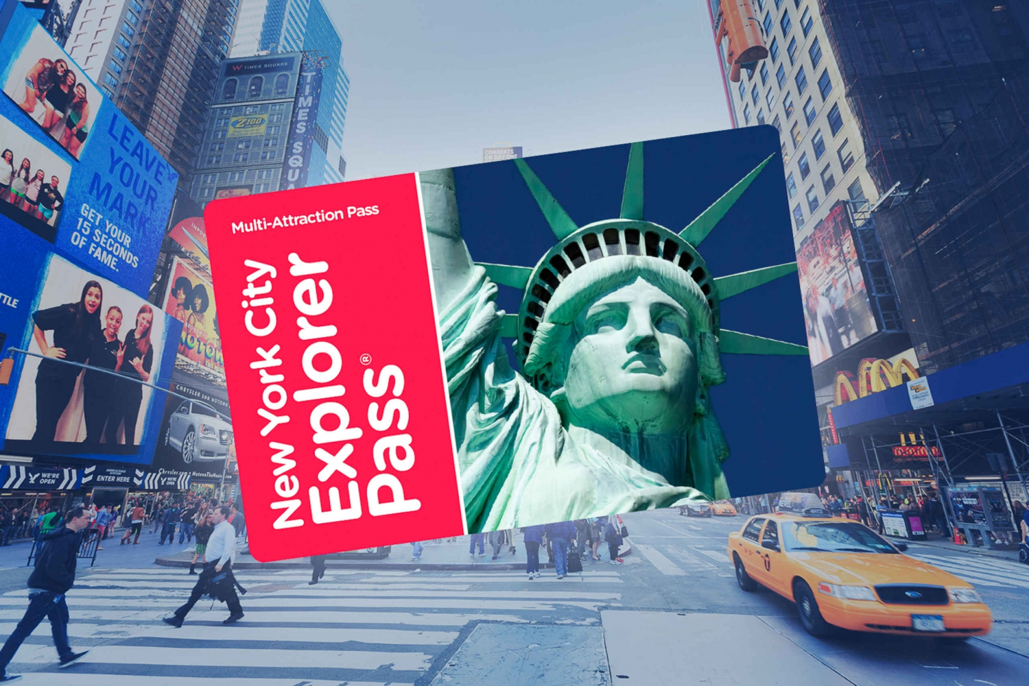 NYC Explorer Pass: Over 85 Tours and Attractions