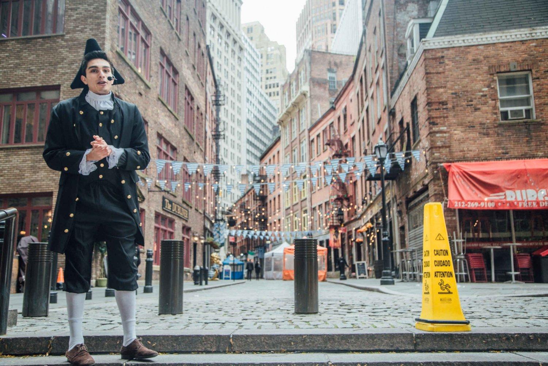 NYC: Portrayed Walk-Off/Walk-On Historical Walking Tour