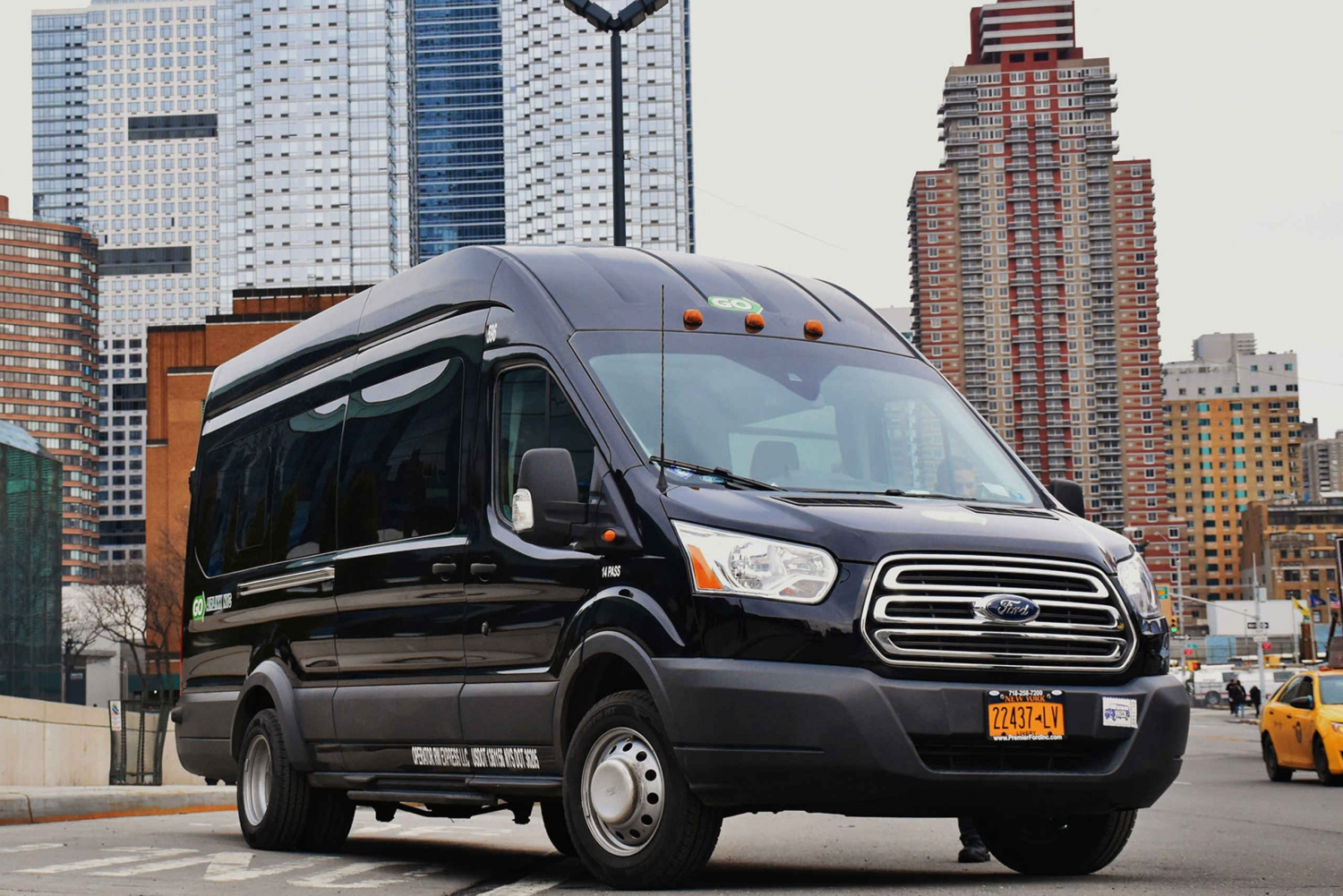 Private Transfer: Newark Airport to Manhattan Cruise Port
