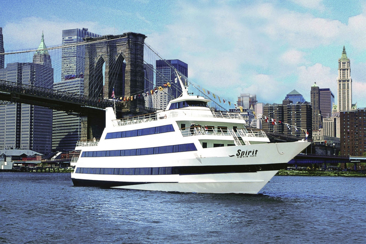 Spirit of New York 2-Hour Lunch Buffet Cruise