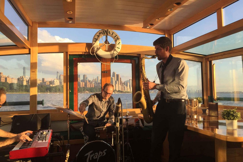 Sunday Evening 2-Hour Jazz Cruise on New York Harbor