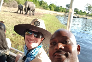 From Victoria Falls: Chobe Day Safari with Buffet Lunch