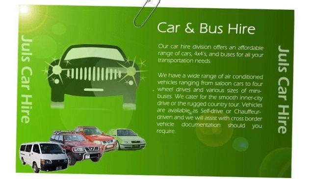Jules Africa Ltd - Car Hire