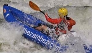 Kayak the Zambezi