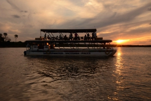 Victoria Falls: Sunset Cruise on the Zambesi River