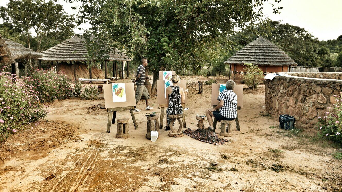 Bushtrack Village Art Tour