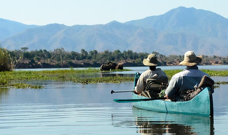 The Ruwesi Canoe Trail