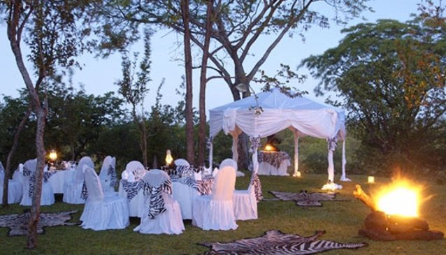 Victoria Falls Safari Lodge Weddings