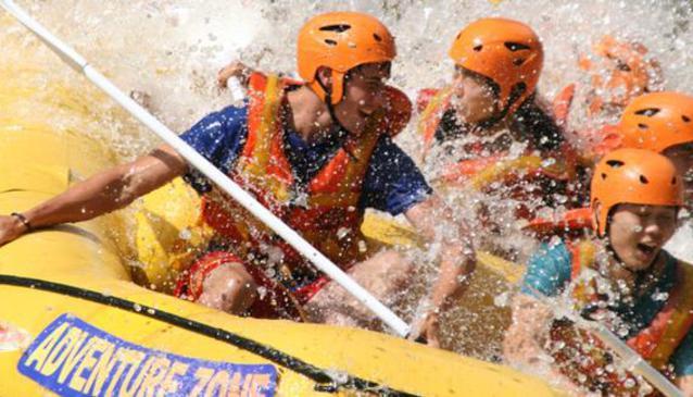 White Water Rafting (Adventure Zone)