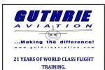 Guthrie Aviation.. Making the difference!