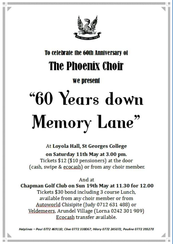 60 Years Down Memory Lane.