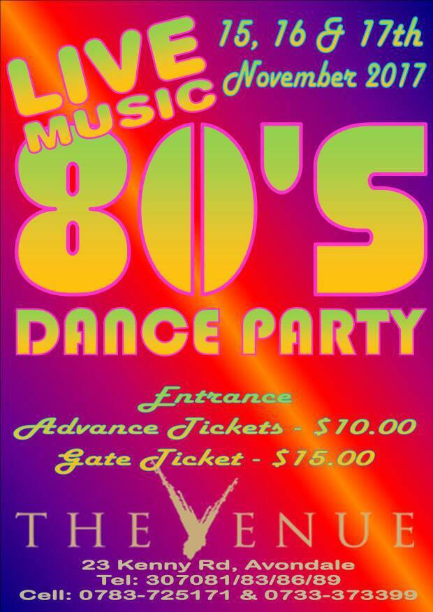 80's Dance Party at The Venue Avondale