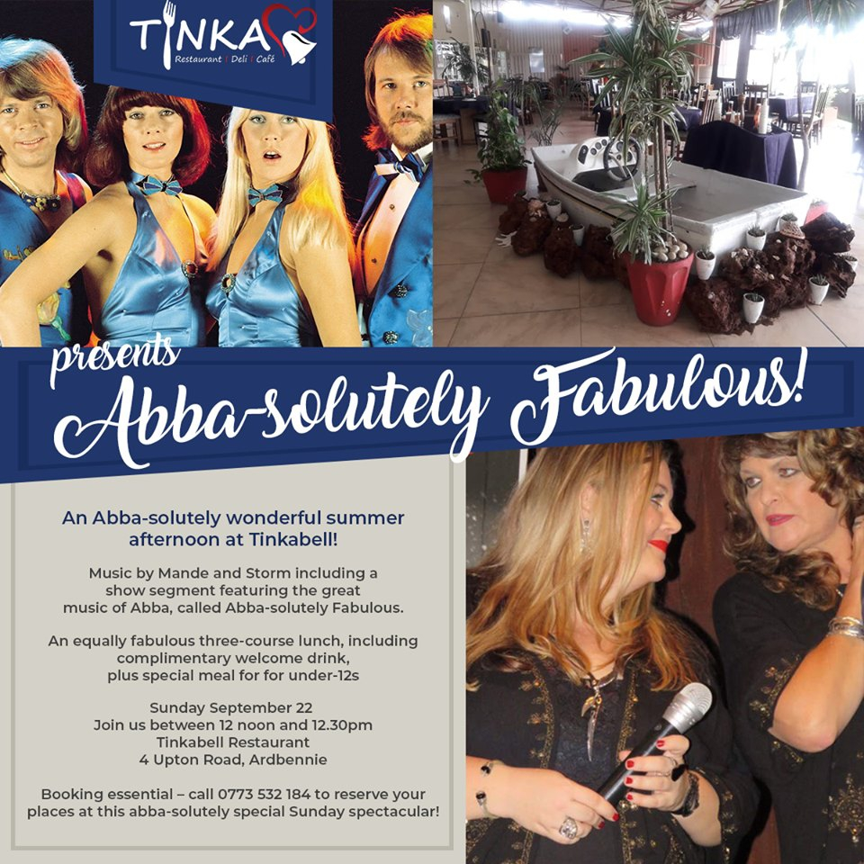 Abba-solutely Fabulous At Tinkabell Restaurant
