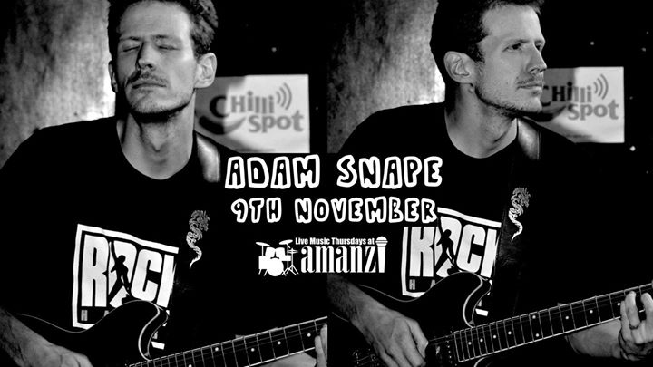 Adam Snape - Live at Amanzi