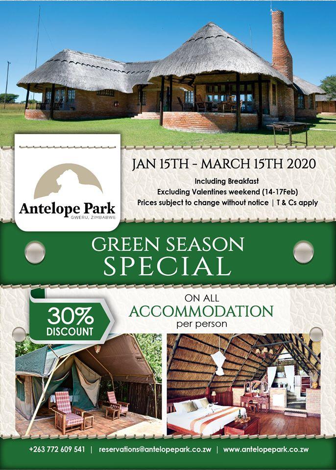 Antelope Park Green Season Special
