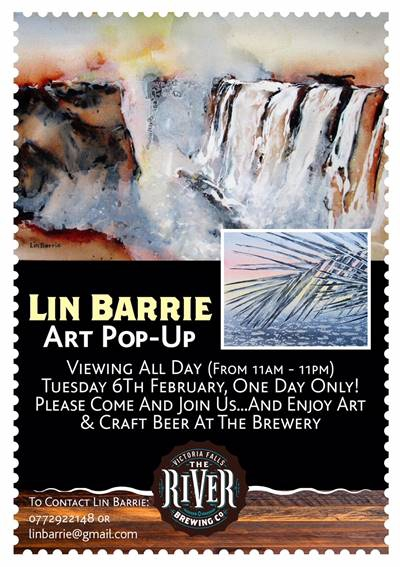 Art pop-up by Lin Barrie