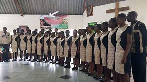 Auditions for the Harare Youth Choir.