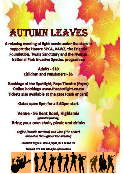 Autumn Leaves 20th May 2017
