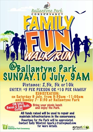 Ballantyne Park Fun Run