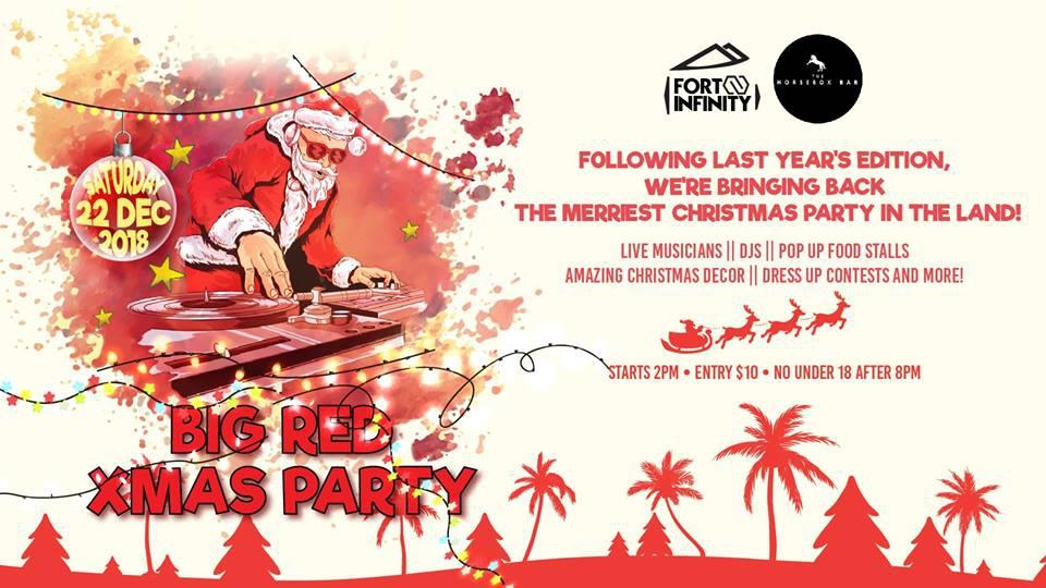 BIG Red Xmas Party