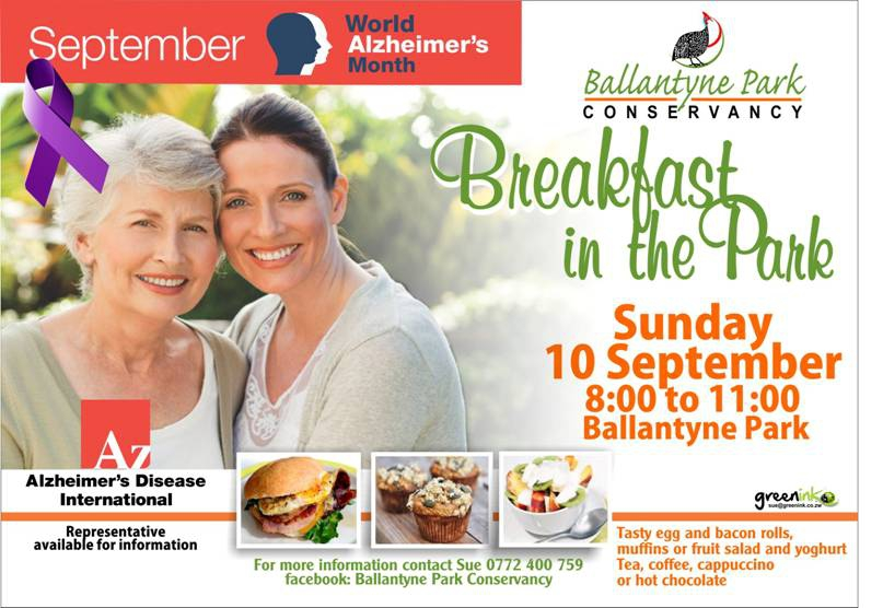 Breakfast in the Park- World Alzheimer's month