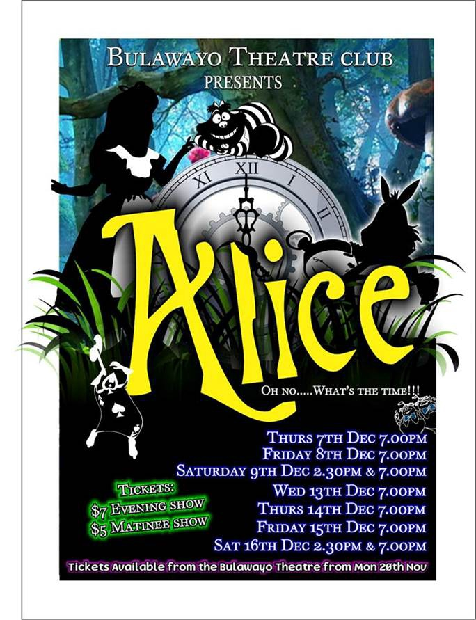 Bulawayo Theatre Club Presents Alice