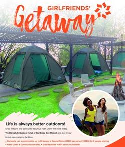 Caribbea Bay Girlfriends Getaway Camping Adventure