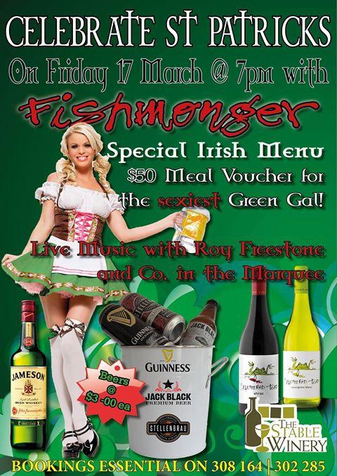 Celebrates St Patrick's With Fishmonger
