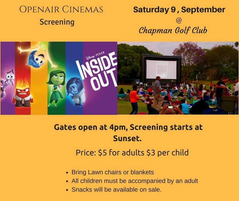 Chapman - Openair Cinemas - 9 September 2017