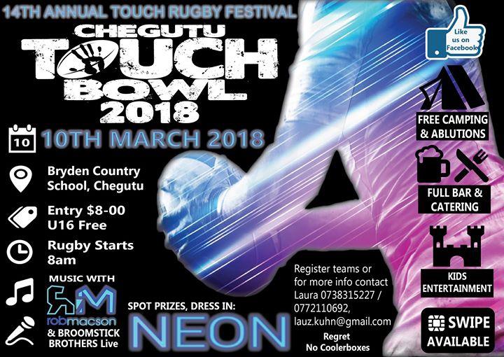 Chegutu Touch Bowl 2018