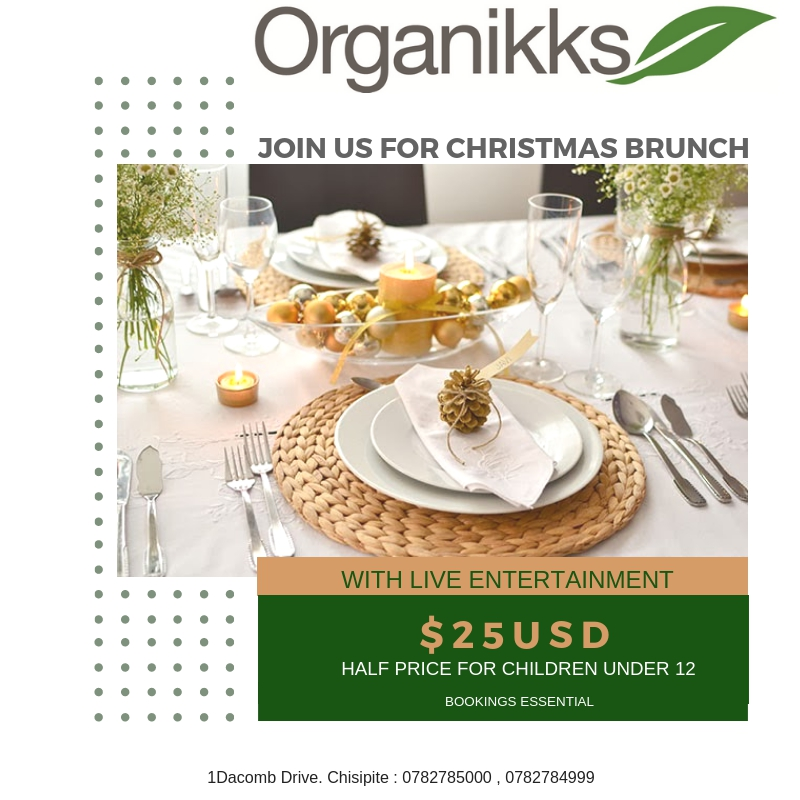 Christmas Brunch at Organikks