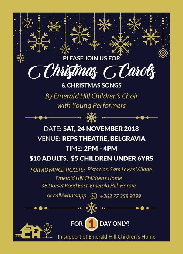 Christmas Carols and Songs - 24 November 2018 | My Guide Zimbabwe