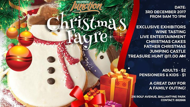 Christmas Fayre - Willowmead Junction - Sunday 3rd December