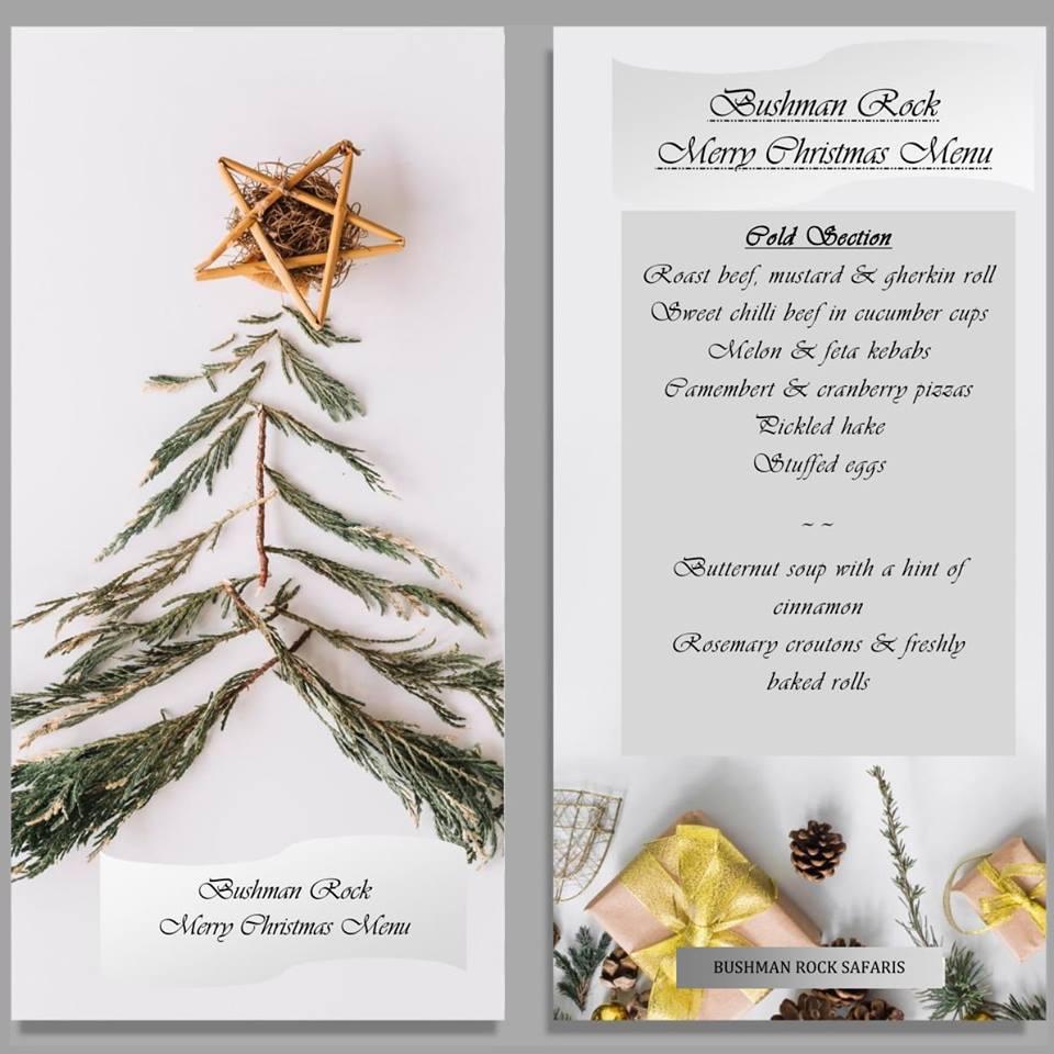 Christmas Feast at Bushman Rock