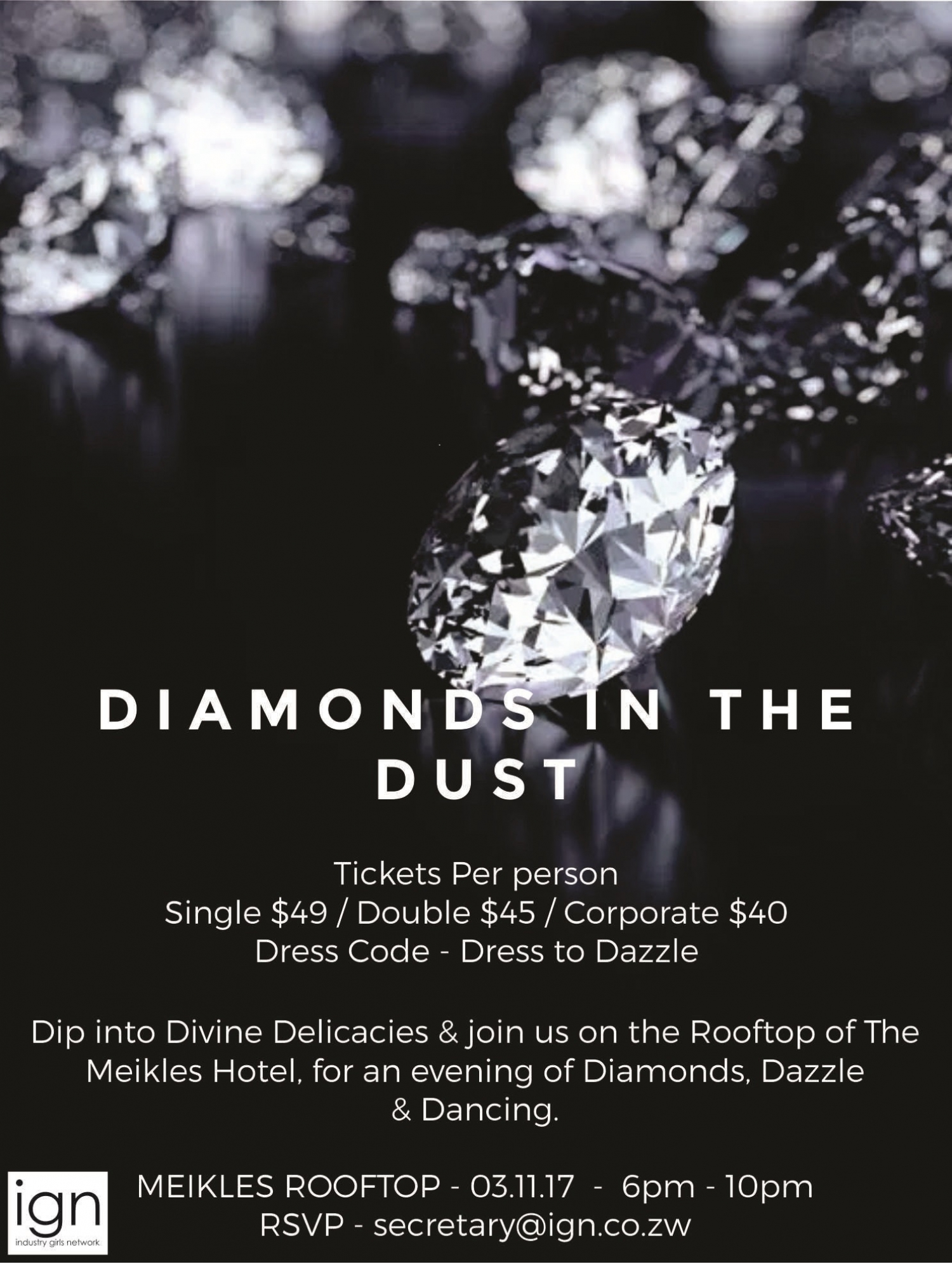 Diamonds in The Dust November 2017