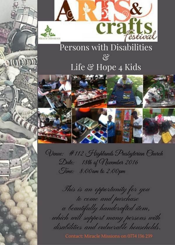 Disabled kids - Arts & Crafts Festival