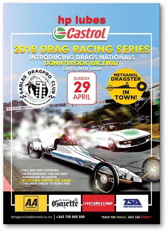 Drag Racing Series - Sunday 29 April 2018