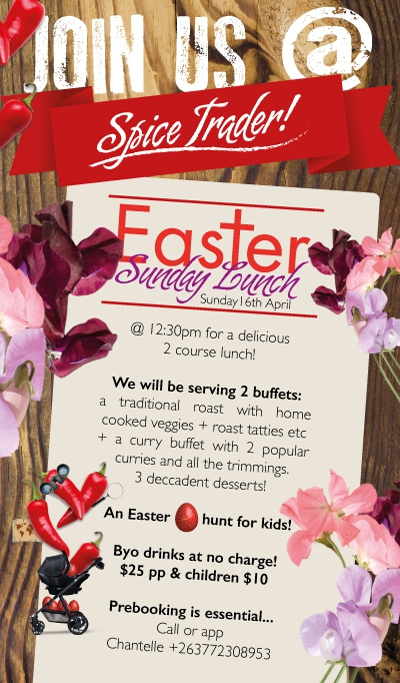 Easter Sunday Lunch At Spice Trader