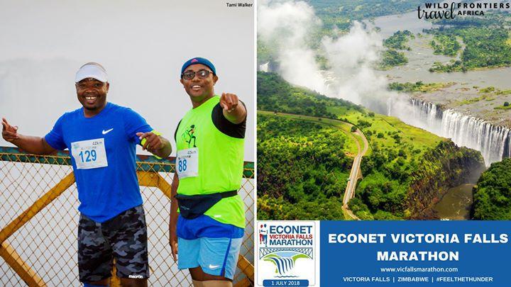 Econet Victoria Falls Marathon 2018