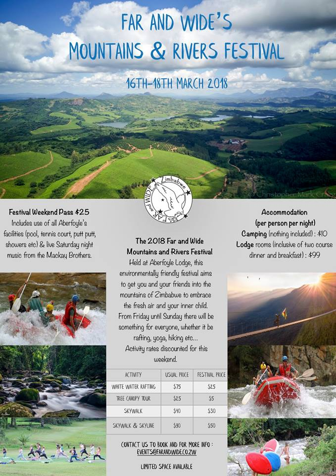 Far and Wide's Mountains and Rivers Festival