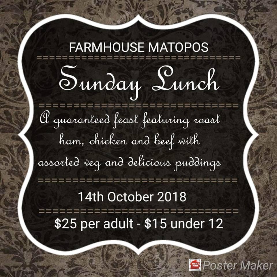 Farmhouse Matopos Sunday Lunch